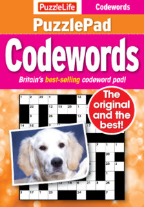 Puzzlelife PuzzlePad Codewords Magazine