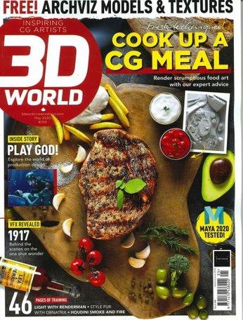 3D World Magazine