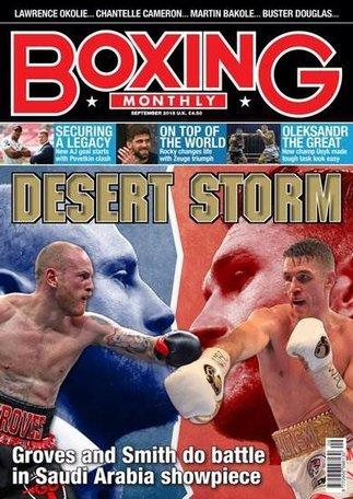 Boxing Monthly Magazine
