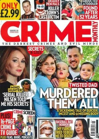 Crime Monthly Magazine