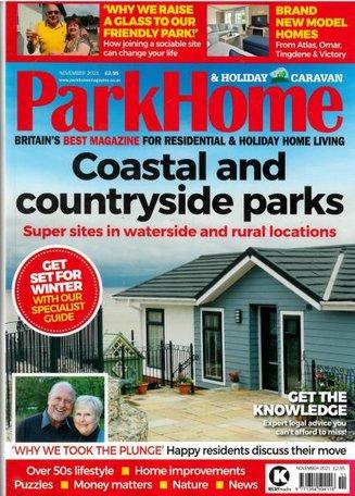 Park Home & Holiday Caravan Magazine