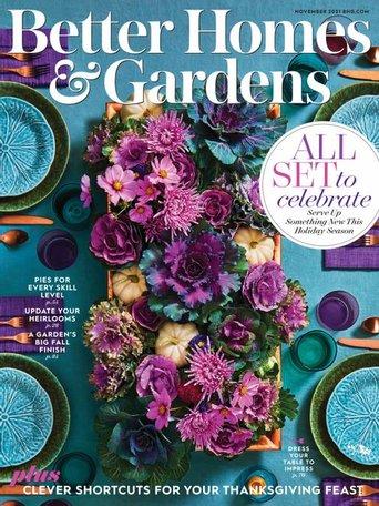 Better Homes & Gardens Magazine